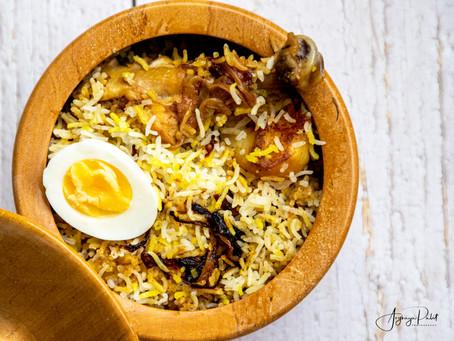 Curious Case of Potato in Kolkata Biriyani