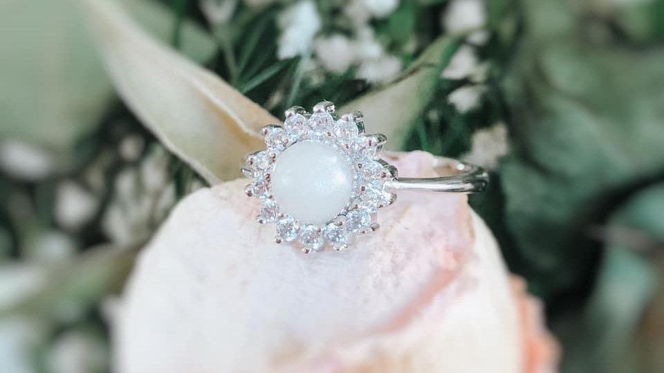 Halo Flower Ring