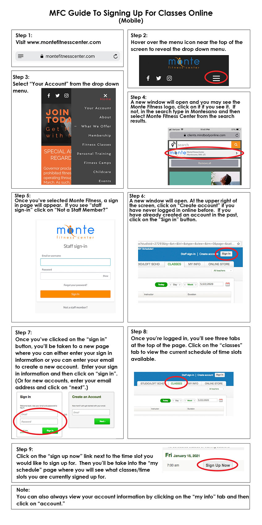 class sign up mobile guide REVISED2 1_6_