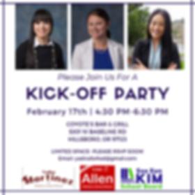 Kickoff Party Invitation- Yadira Martine