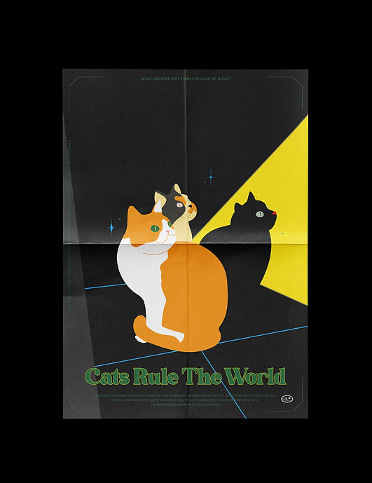 CATS RULE THE WORLD POSTER Vol.2.jpg