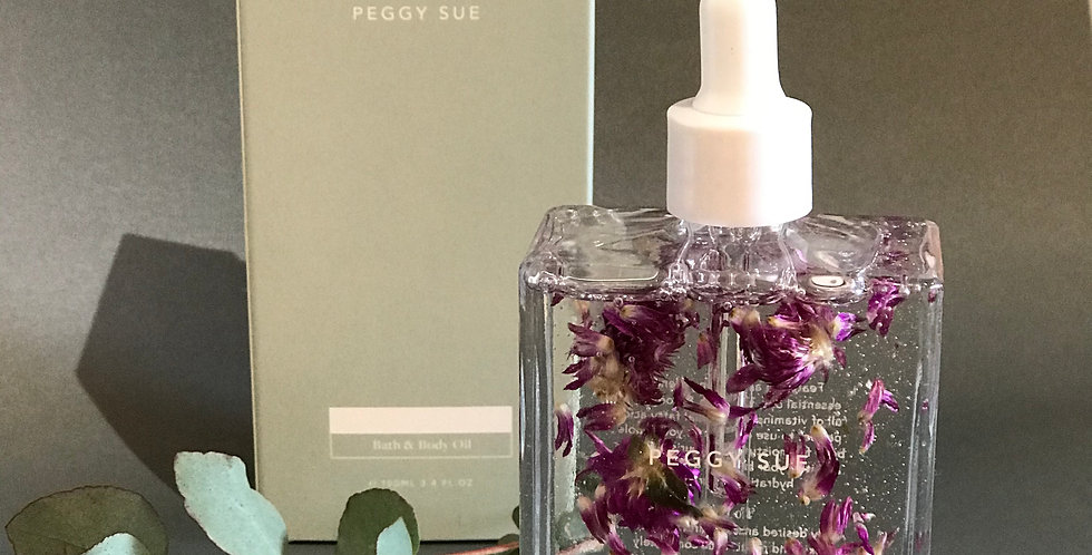 Peggy sue bath and body oil