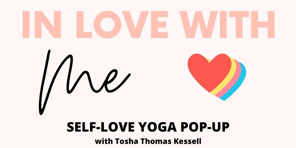 Self-love yoga and meditation pop-up