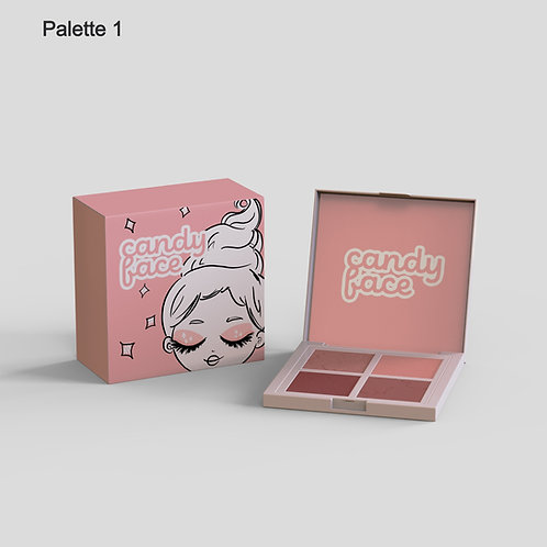 Candy Face Pocket Shadow Palette