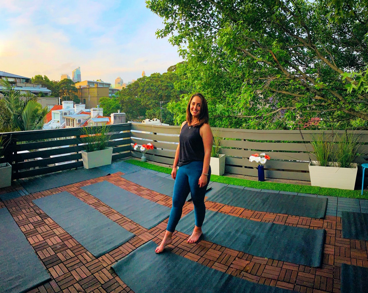 Sydney Rooftop Yoga - casual class