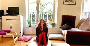 20 Minute Yin Yoga Using Everyday Household Items!   CJY