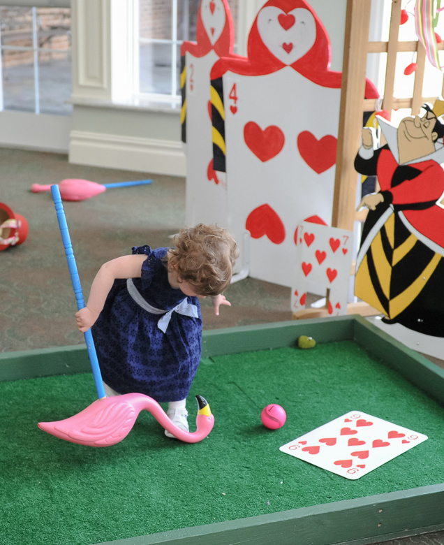 A Game of Cards-- Very Mini Golf!