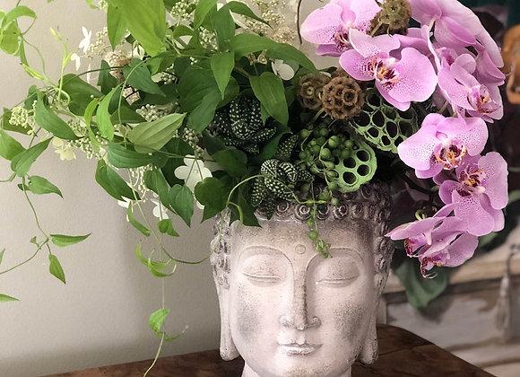 Floral Buddha