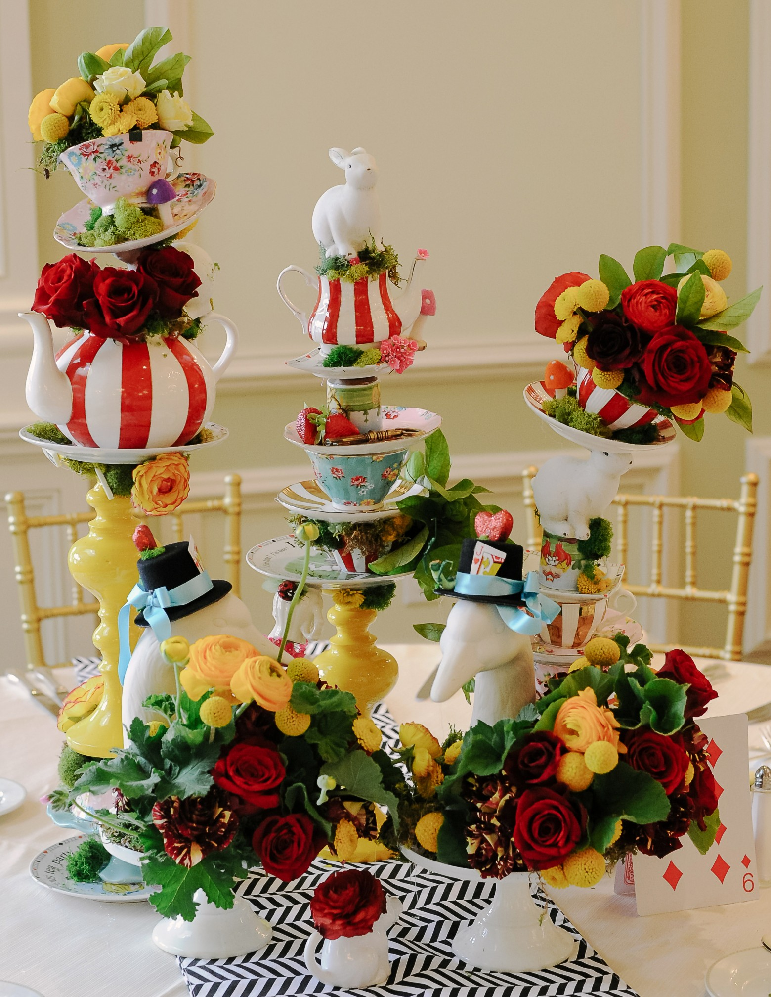 Stacking Tea Party