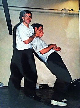 Alexandre Orozco con Richard Douieb