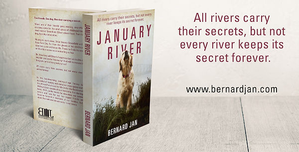 January River by Bernard Jan paperback