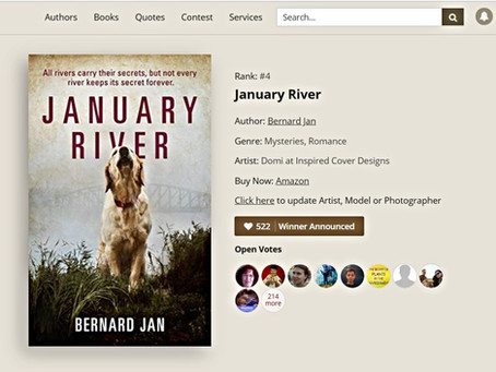 January River Fourth in AllAuthor Contest