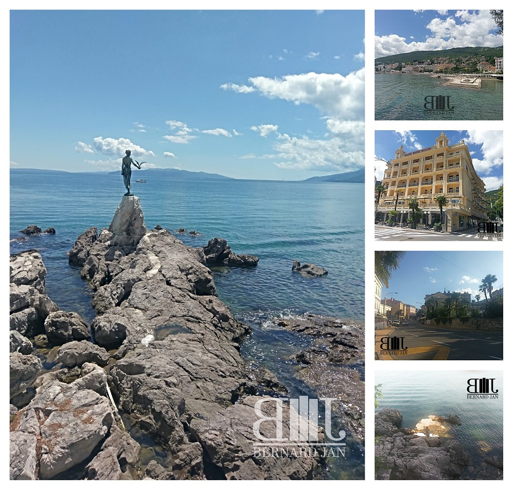My vacation in Croatia: Opatija, June 12-13, 2020