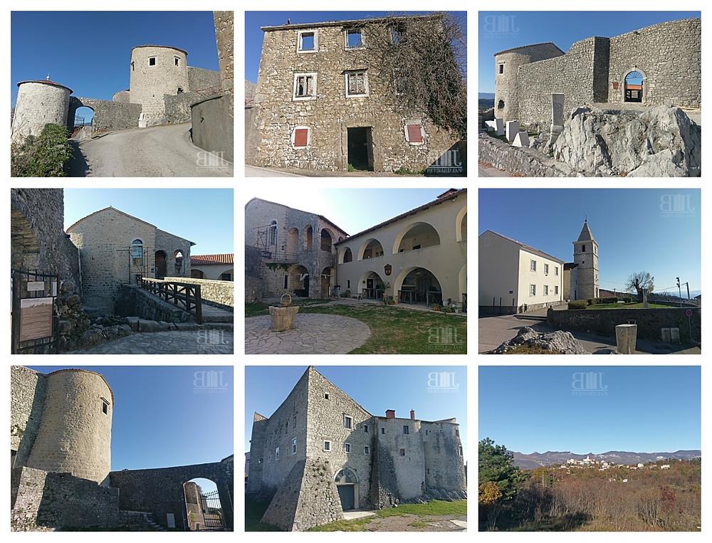 Photos by Bernard Jan - Castle Grobnik, Grobnik, Croatia, November 2020