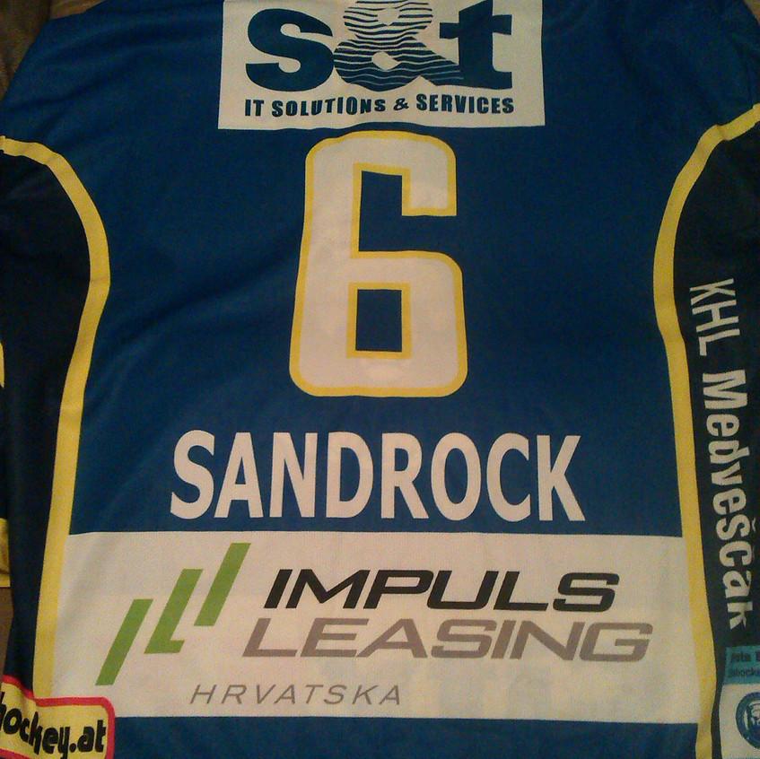 Medveščak jersey Sandrock