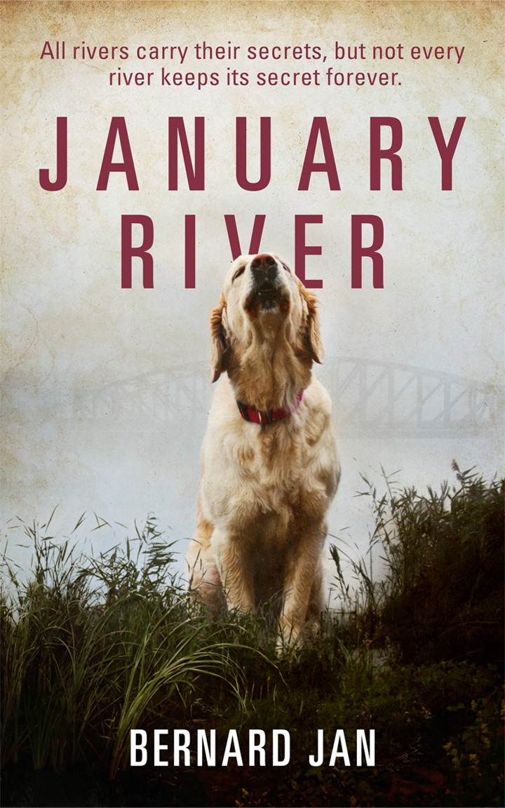 January River by Bernard Jan book cover