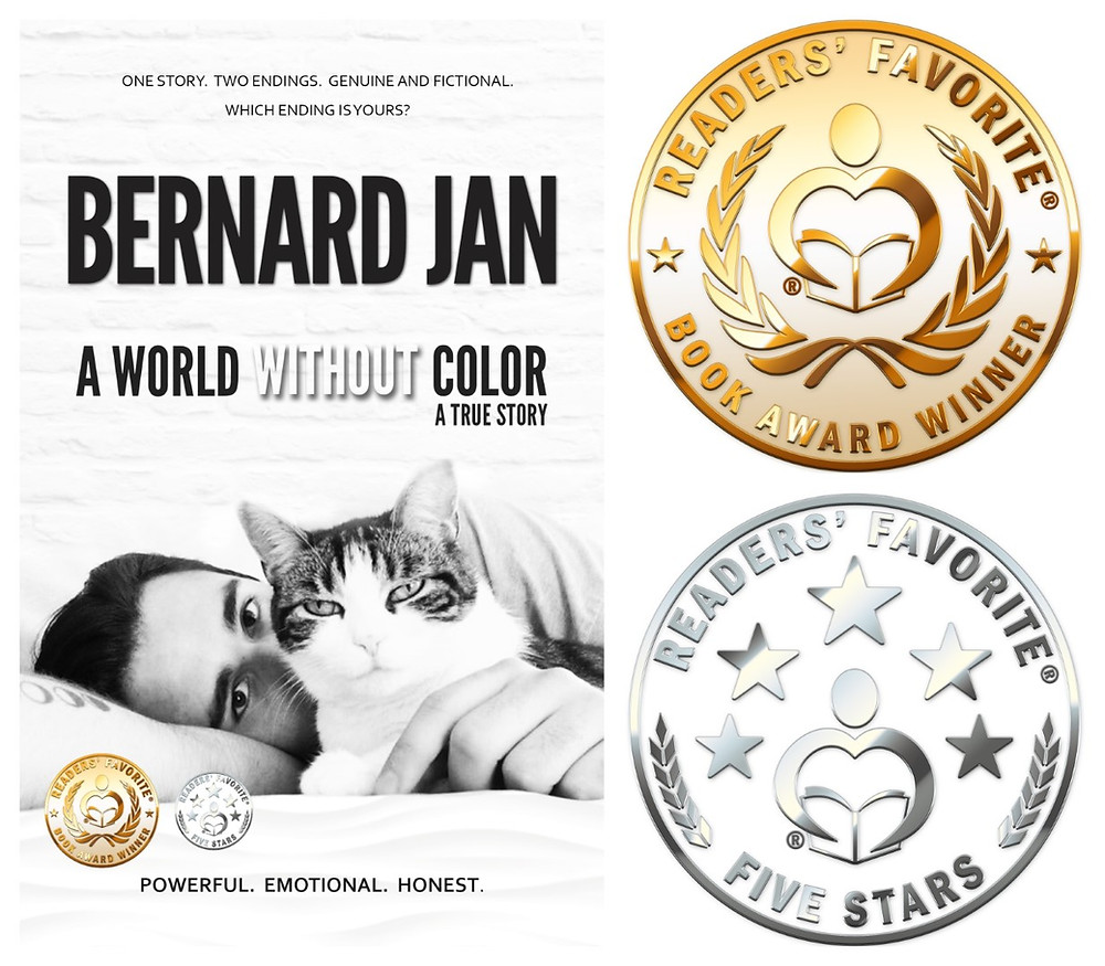 A World Without Color by Bernard Jan Readers' Favorite Gold Medal Winner and Five Stars Review