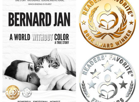 Readers' Favorite Gold for A World Without Color!