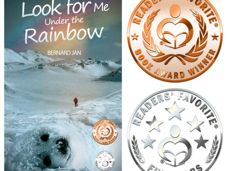 Readers' Favorite Bronze for Look for Me Under the Rainbow!