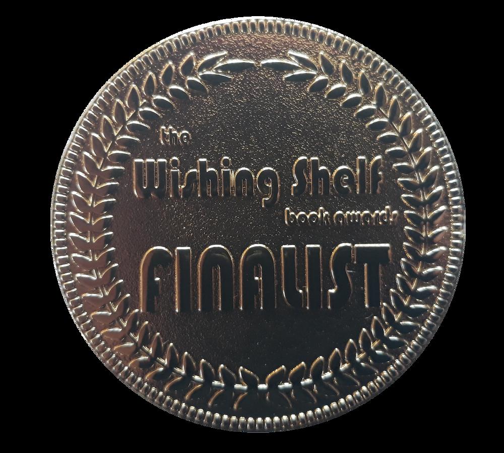 The Wishing Shelf Book Awards Finalist Medal