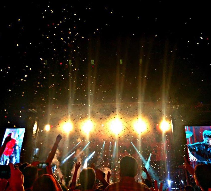Photo by Bernard Jan - 2Cellos concert in Zagreb, 2016