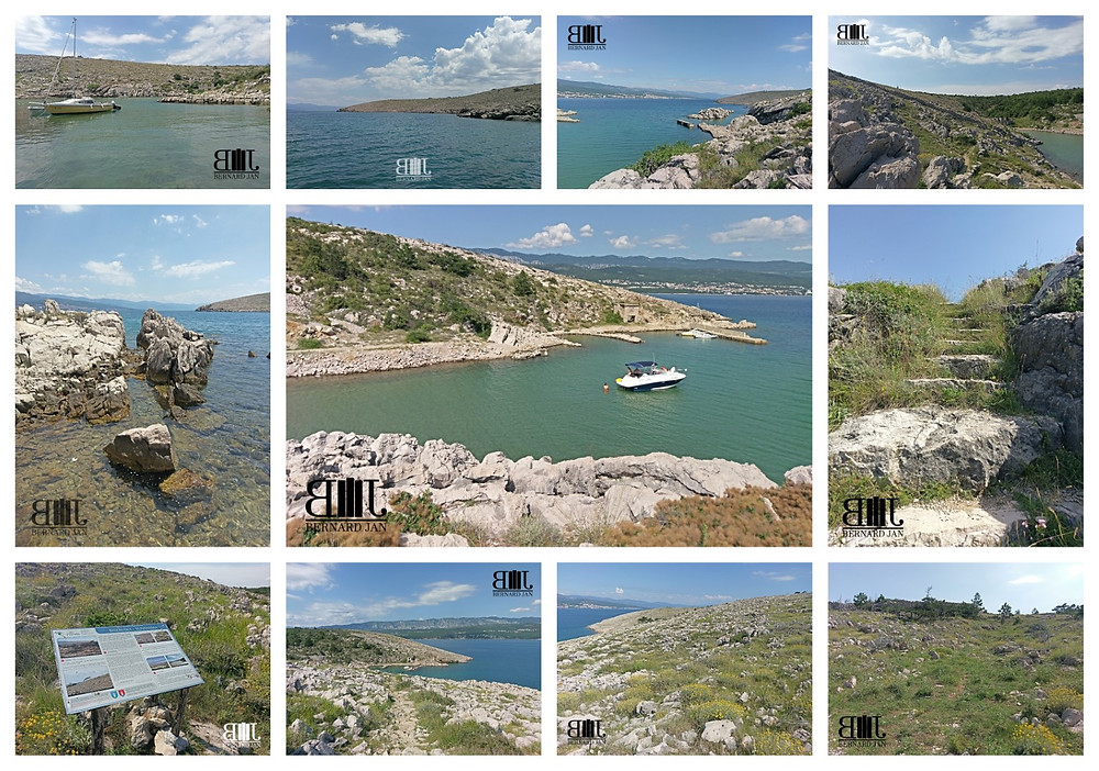 My vacation in Croatia: Slivanjska Cove, July 1, 2020