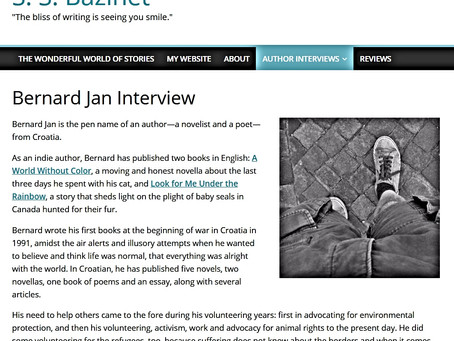 Bernard Jan Interview by S. S. Bazinet