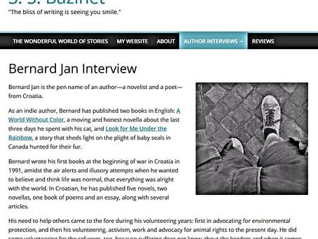 Bernard Jan Interview by S. S. Bazinet