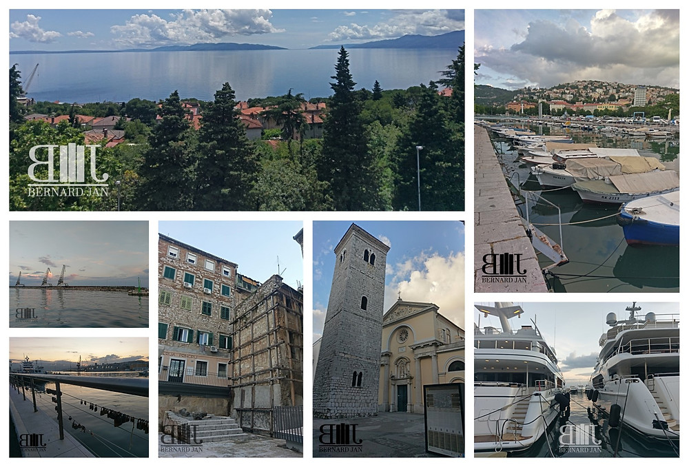 My vacation in Croatia: Rijeka, June 10, 2020