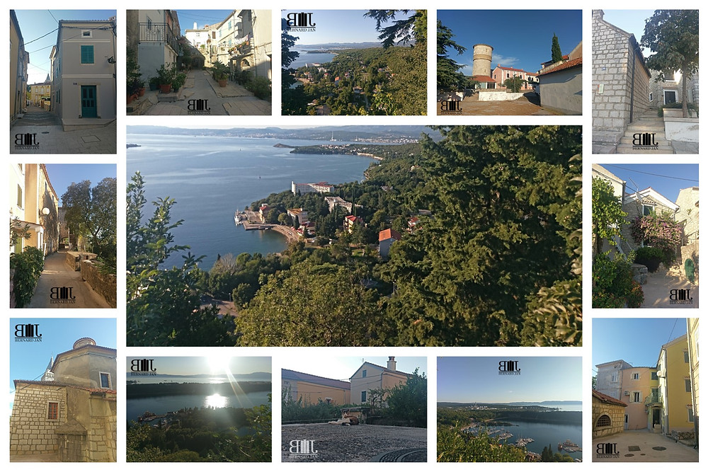My vacation in Croatia: Omišalj, September 4, 2020