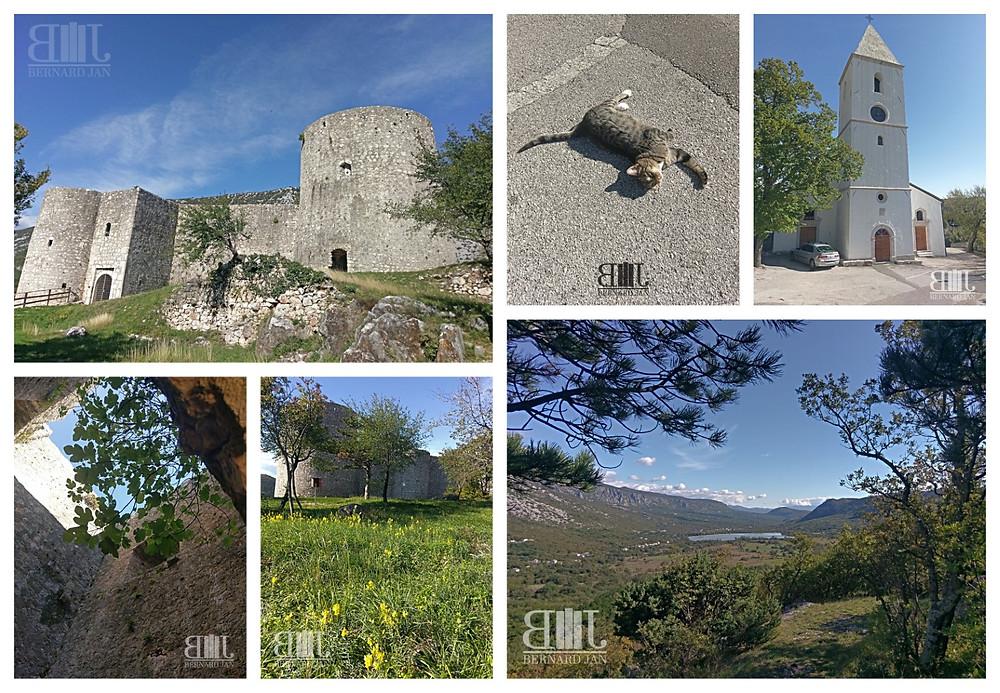Photos by Bernard Jan - Drivenik Castle, Croatia, October 2020