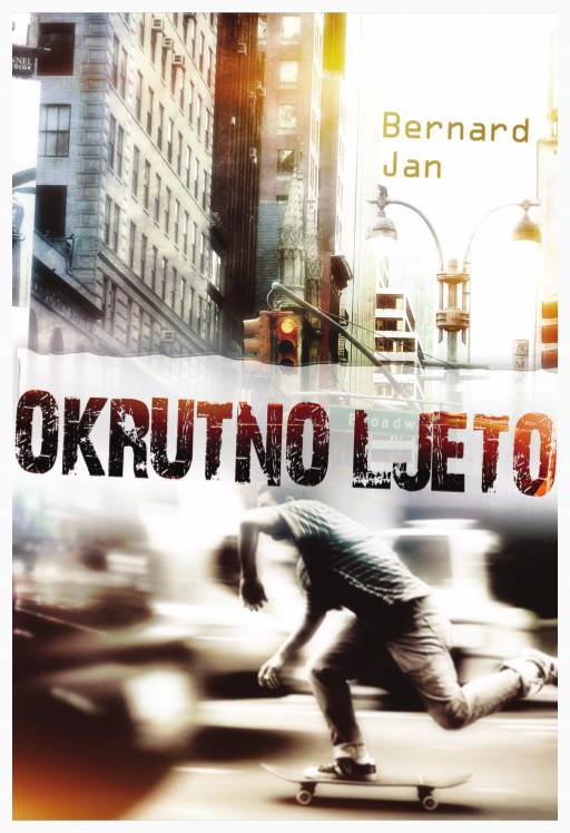 Okrutno ljeto by Bernard Jan book cover