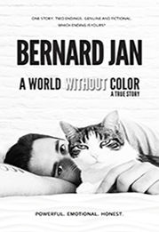A Croatian book cover of the novel A World Without Color by the author Bernard Jan
