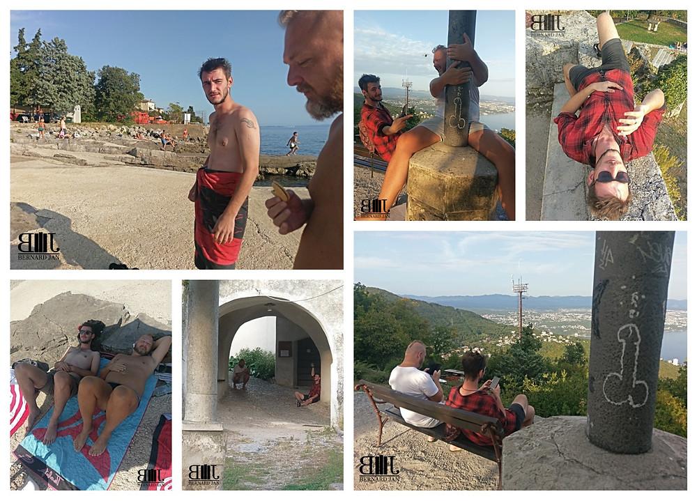 My vacation in Croatia: Crazy in Rijeka and Veprinac, September 20, 2020