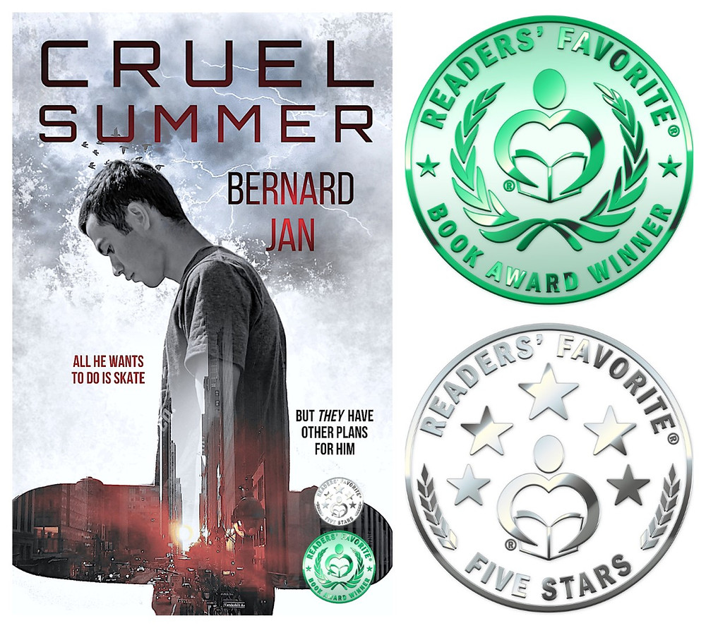 Cruel Summer by Bernard Jan Readers' Favorite Honorable Mention Award Winner and Five Stars Review