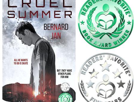 Readers' Favorite Honorable Mention Award for Cruel Summer!