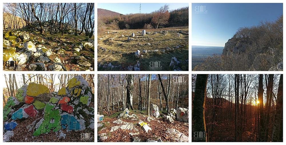 Photos by Bernard Jan - Učka Land Art Trail, Croatia, November 2020