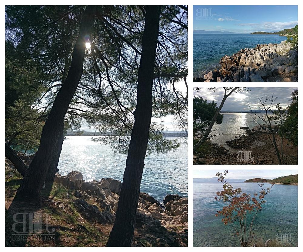 Photos by Bernard Jan - Paradise Road, Island Krk, Croatia, November 2020