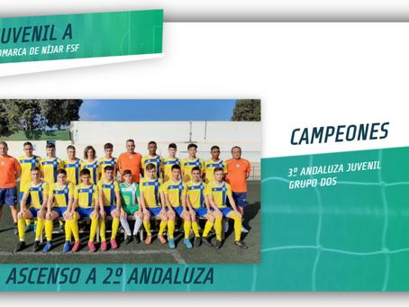 Campeones de Liga y Ascenso a 2º Andaluza