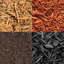 brown mulch red mulch black mulch and nuggets for sale