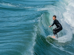 Wet Suit Ride by Terry Sposito