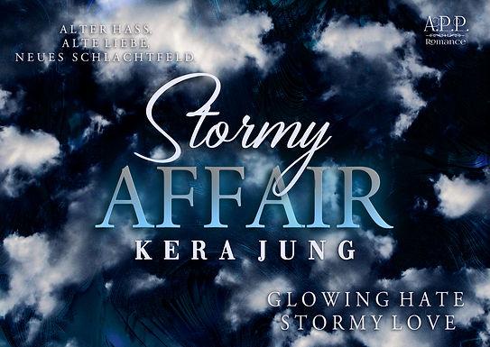 Postkarte / Lesezeichen Stormy Affair