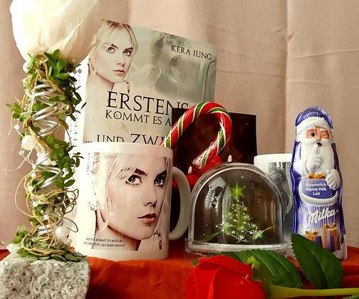 Wunderschönes Weihnachtspaket zu Erstens kommt es anders ... Sammelband