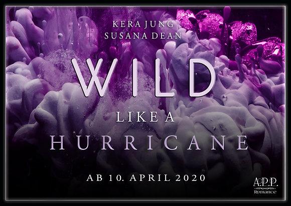 Postkarte / Lesezeichen Wild like a Hurricane