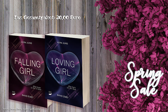 Kleines Falling- und Lovinggirl Paket