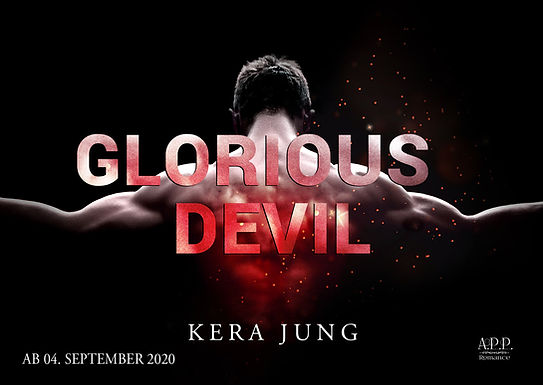Postkarte Glorious Devil