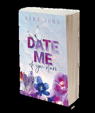 Date me, if you dare - Print  / Lesezeichen / Autogrammkarte