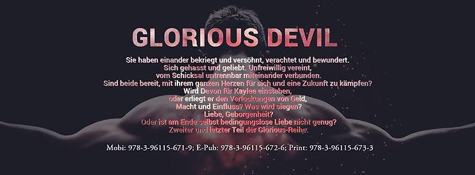 Lesezeichen Glorious Devil