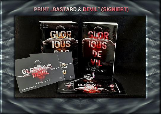 Buchpaket Glorious Bastard + Glorious Devil