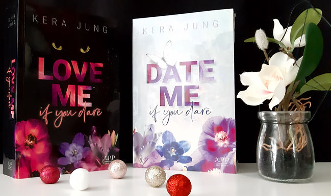 Buchpaket Date me if you dare, Love me, if you dare